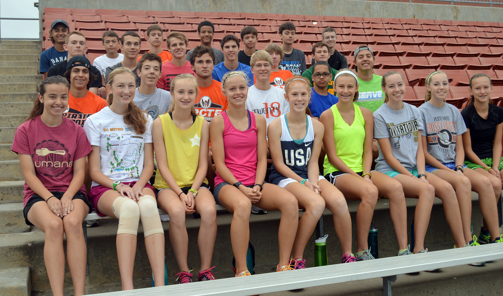 Front row, from left: Annika Jackson, Claire Wilhelm, Jessica Clark, Rebekah Geddes, Erin Straubel, Hannah Valentine, Lauren Johnson, Lindsey Johnson and Lexi Elmore. Second row, from left: Payton Anderson, Evan Edwards, Jerod Maksudian, Nic Bjustrom, Brennan Jarrett and Hunter Long. Third row, from left: Brighton Bennett, Grant Dixon, Jacob Laures, Keegan Cordova, Jackson Letcher and JD Crawford. Back row, from left: Porter Curtis, Stockton Curtis, Matthew Sullivan, Evan McPhatter, Sam Smith, Connor Stuart and Mark Calhoun. Not pictured: Alex Rose, Garrett Schultz, Grace Gullett, Jack Renner, Kaylyn Hathaway and Nick Wright,