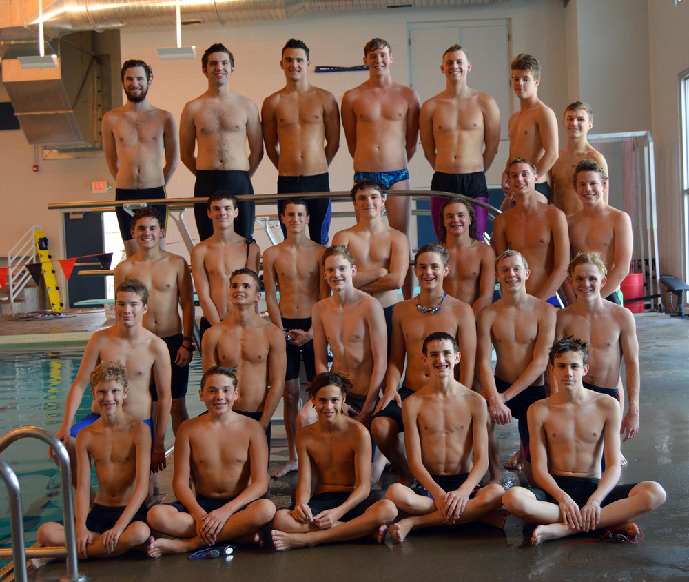 Front row, from left: Jacob Womack, Marcus Scudiero, Fletcher Burns, Wyatt Morgan and Cole Bracken. Second row, from left: Zach Ringo, Isaac Lee, Ethan Houts, Jacob Lichdi, Pat Hefferren and Kyle DiBernardo. Third row, from left: Logan Crow, Thomas Roos, Isaac Smith, Charles Allen, Eli Cart, Jackson Garrett and Luke Boyd. Fourth row, from left: Stephen Heit, Carson Schutter, Daniel Miller, Connor Morris, Ethan Wissmann, Lucas Ethridge and Wyatt Miller.