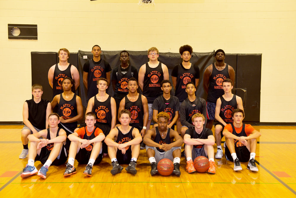 The 2016-17 Platte County boys basketball team
