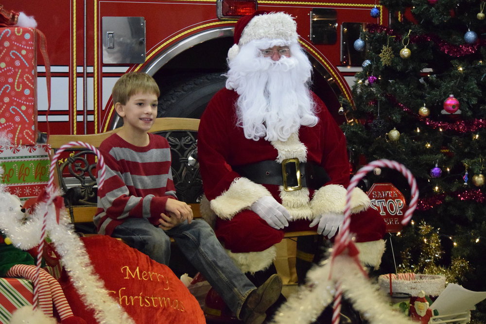 Citizen file photo This 2015 file photo shows the Cookies with Santa event at the Dearborn Area Fire Protection District station. The event will continue this year and run in conjunction with Christmas in Dearborn.
