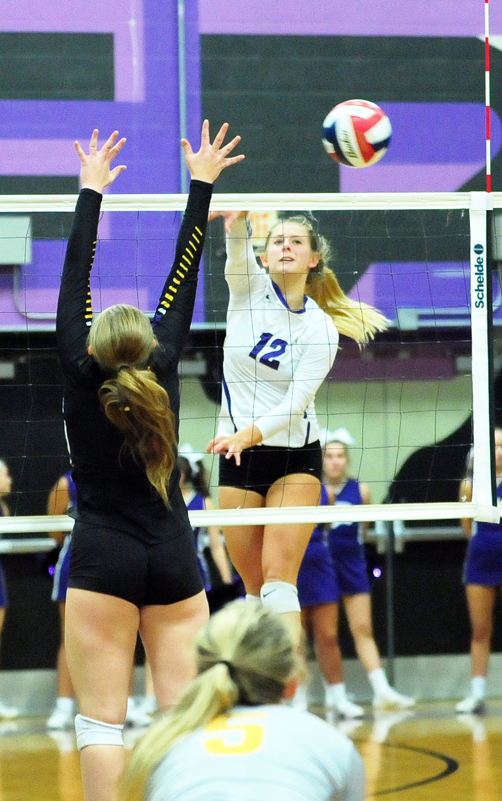 Citizen file photo Park Hill South senior Andi Elley (12) made the Missouri High School Volleyball Coaches Association all-state list in Class 4 for a second straight season.