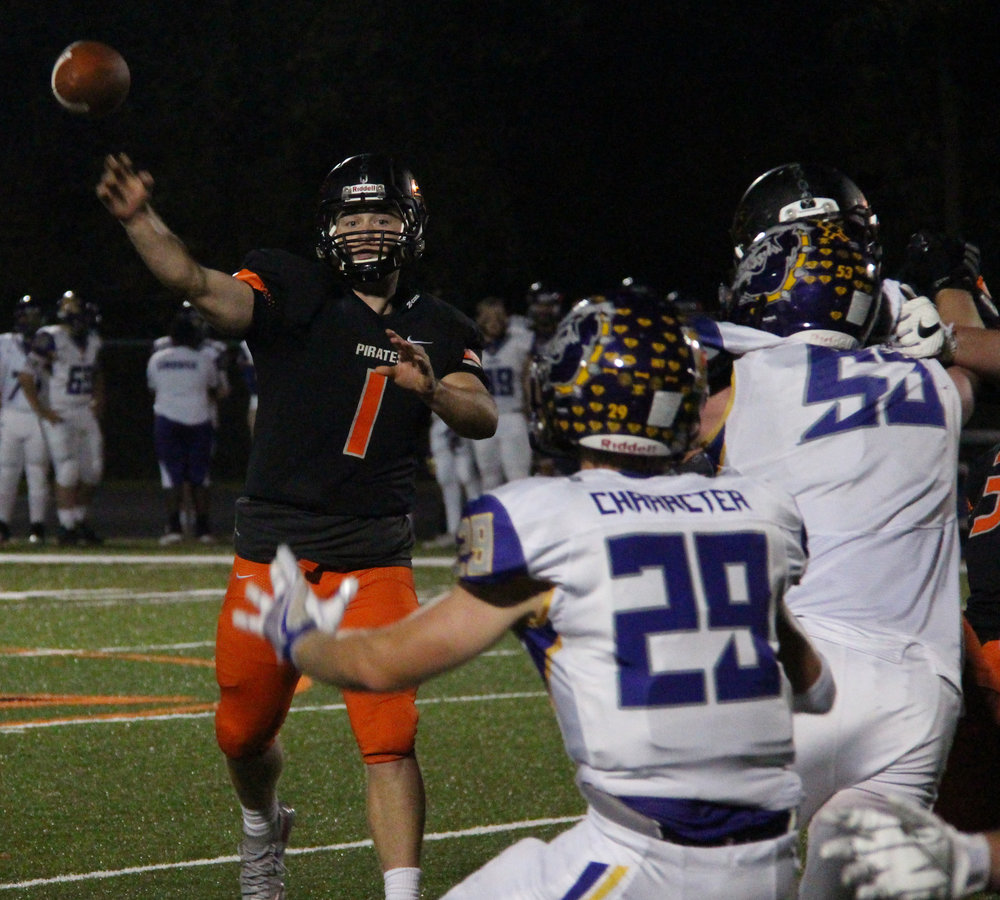 Citizen file photo Platte County quarterback Justin Mitchell
