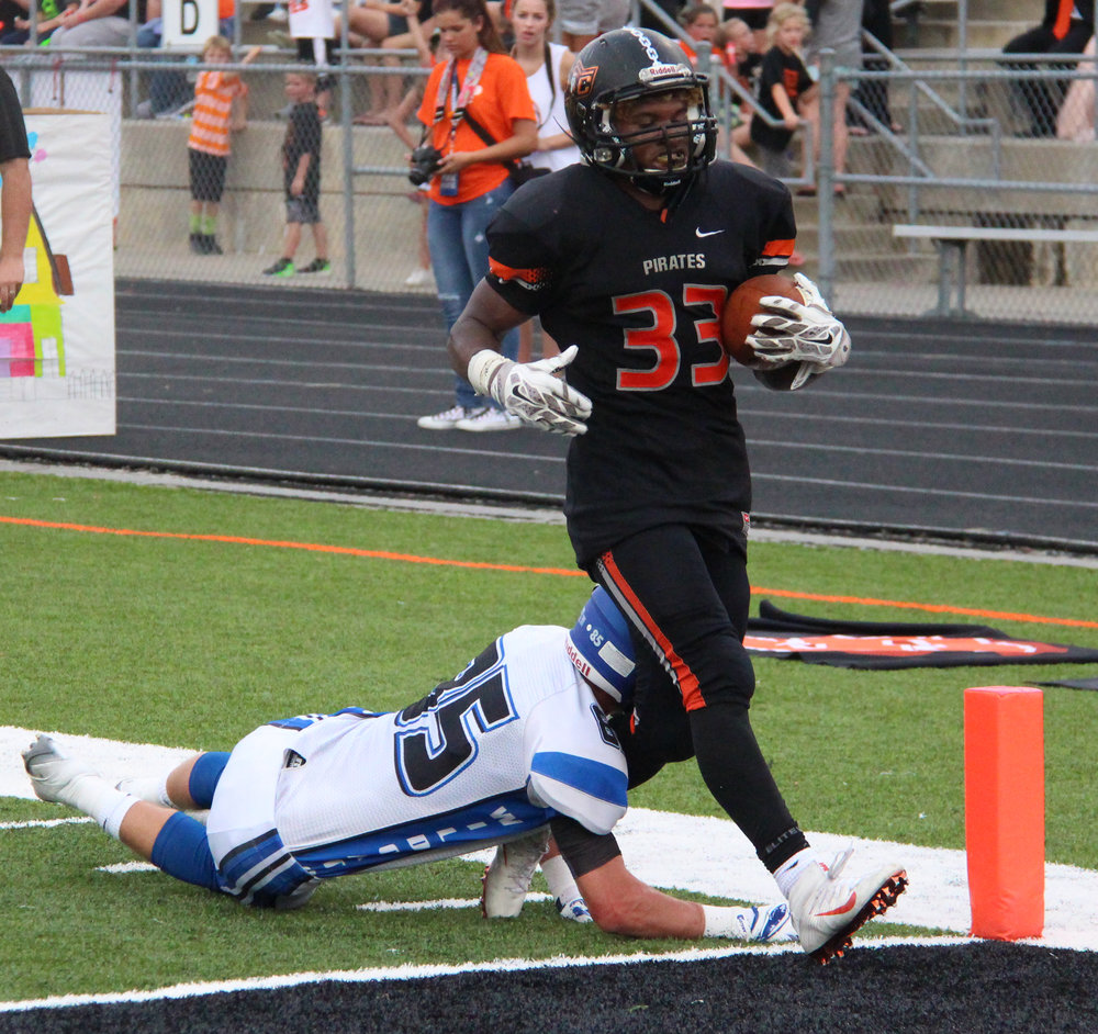 Citizen file photo Platte County running back Mike McNair