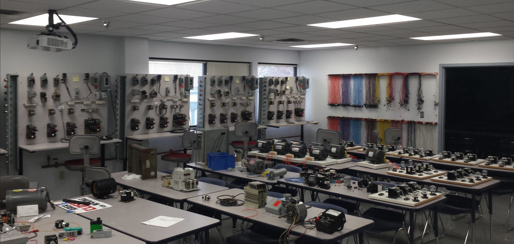 Contributed photo An example of a classroom for motor and manufacturing control at Metropolitan Community College's Business and Technology Center in Kansas City, Mo. Northland Career Center plans to partner with the school on a new program offering starting next school year.