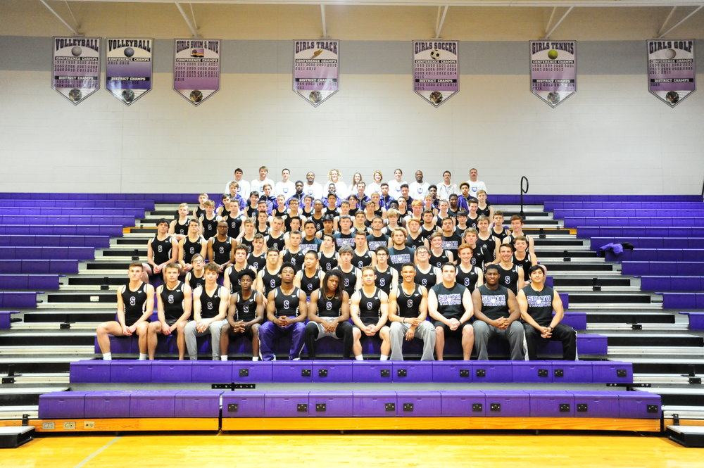 Park Hill South boys track and field team
