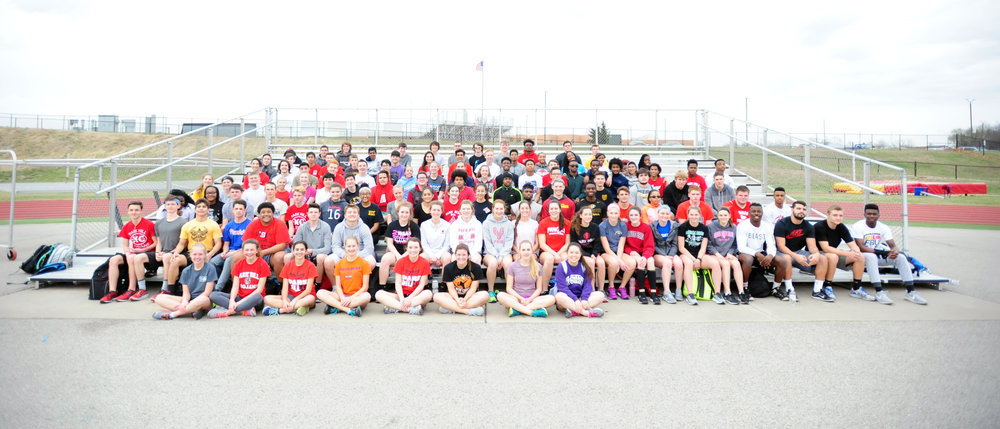 Park Hill track and field team