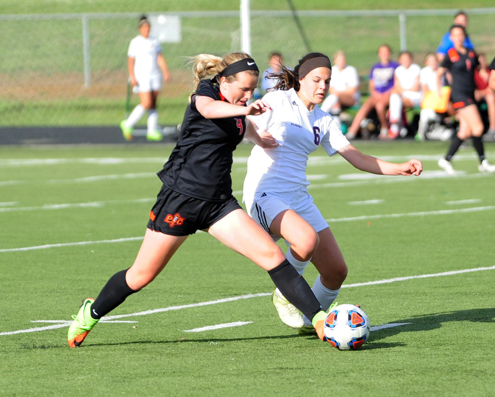Citizen file photo Platte County senior midfielder Kianna Castro