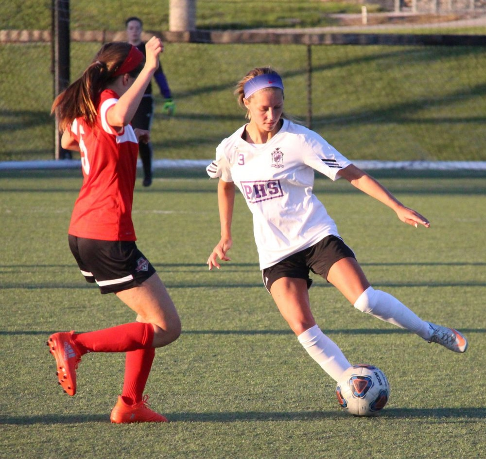 Citizen file photo Park Hill South junior defender Kate Eischens