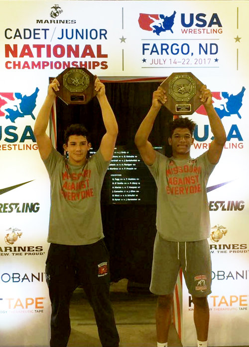 Park Hill's Sharp, Winston win national wrestling titles Image