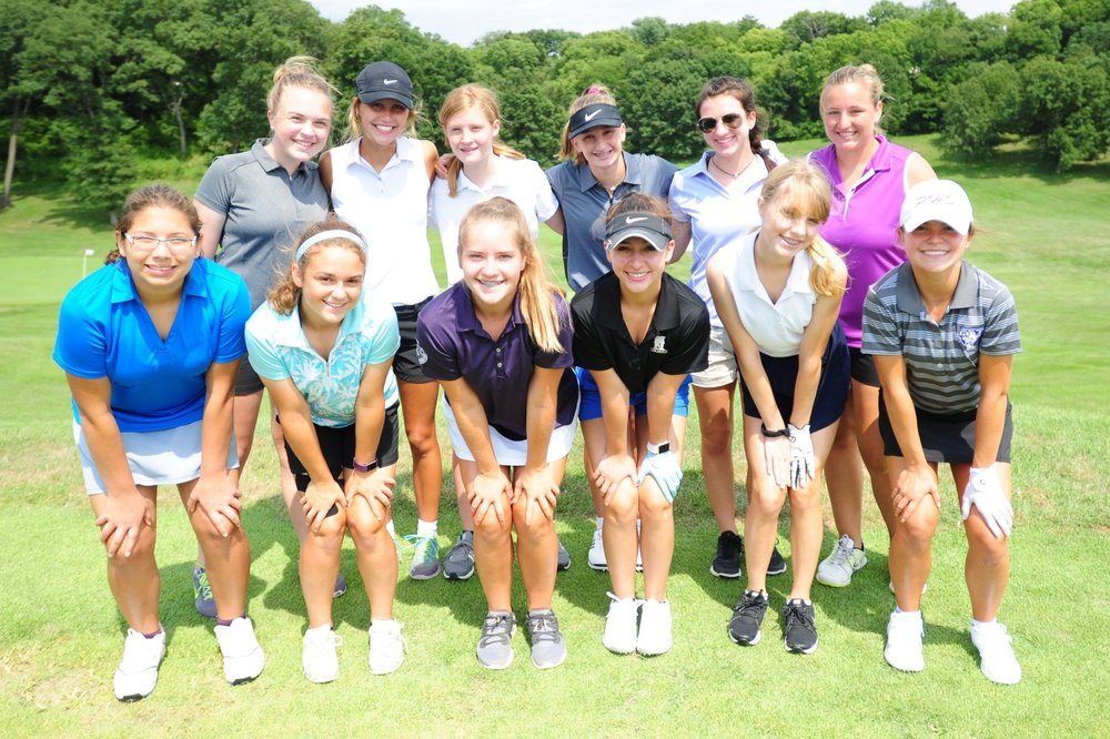 Front row, from left: Aleacia Estrada, Taylor Evans, Olivia Siebert, Madelyn Hill, Katie Means and Sadie Franklin. Back row, from left: Renz Breen, Kate Eischens, Skyler Simpson, Chloe Bowman, Sydney Warren and Annie McFee.