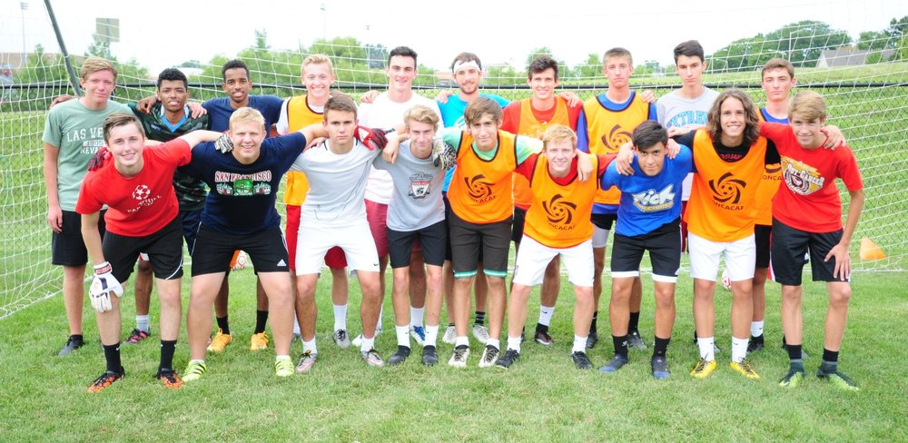 Front row, from left: Jackson Elder, Stefan Derra, Gabe Smith, Ben Jones, Chris Munoz, Matt Lachowitzer, Austin Favela, Ethan Fiest and Logan Gear. Back row, from left: Gabe Rau, Faadil Sheik, Salah Sheik, Aaron Simpson, Griffin Koski, Benton Hall, John Moran, Jack Austin, Jacob Shelton and Jackson Turner.