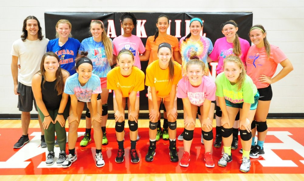 Front row, from left: Camp Forett, Alyssa Ramos, Landyn Powell, Kayla Huffman, Madison Michaelis and Sabrina Lane. Back row, from left: Issac Martin, Honor Foutch, Hannah Graves, Kristen Birmingham, Aile Aiono, Rachel Pella, Kai Welsh and Kori Smith.
