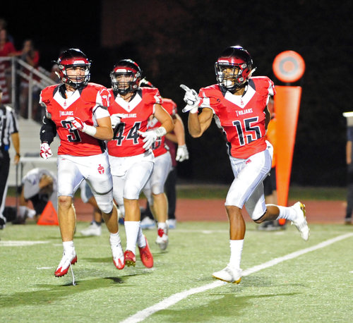 Haney's INT allows Park Hill football to claim No. 1 ranking Image