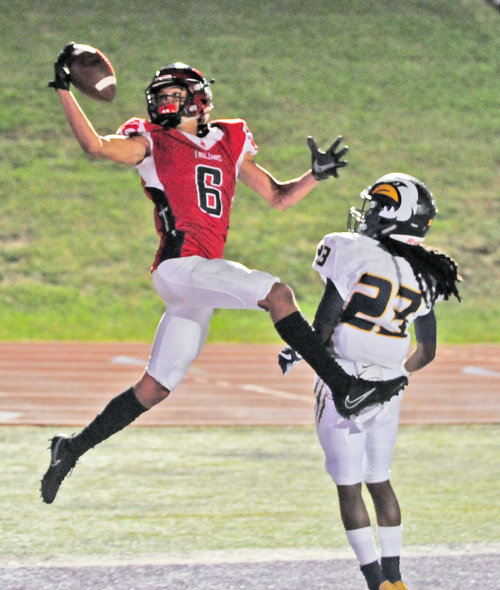 Big days for Bell, Maples lead Park Hill football past Liberty North Image