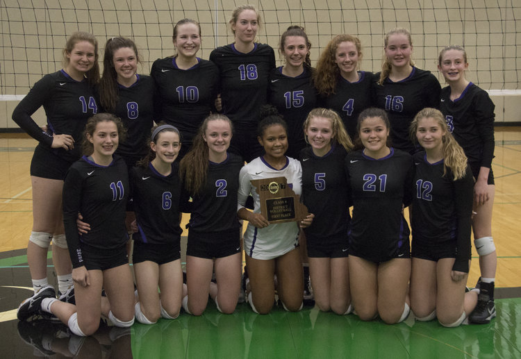 South volleyball avenges losses, downs Park Hill in district title match Image