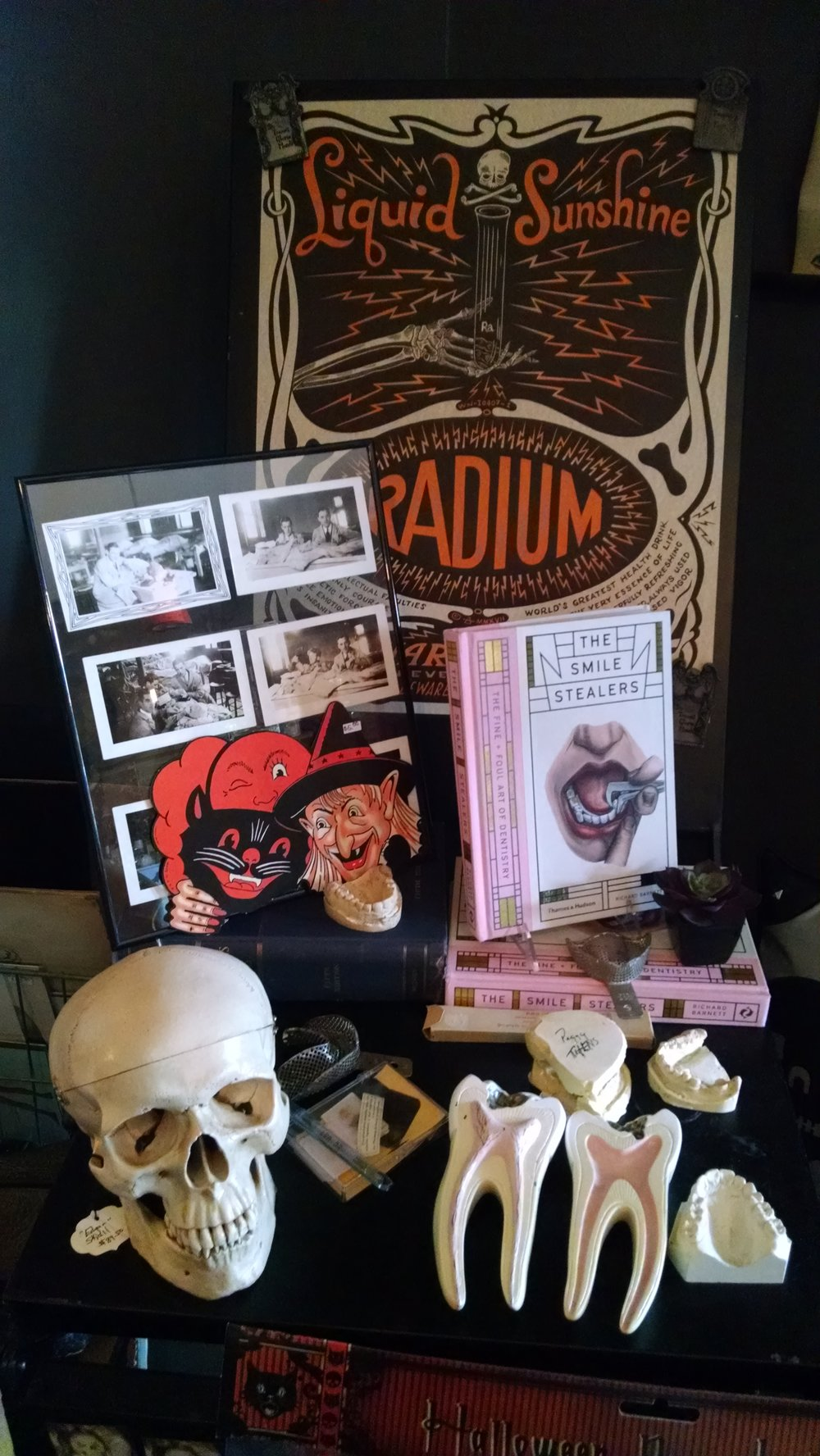JEANETTE BROWNING FAUBION/Citizen photo A sample of items on sale at Noir Arts and Oddities in Kansas City, Mo.