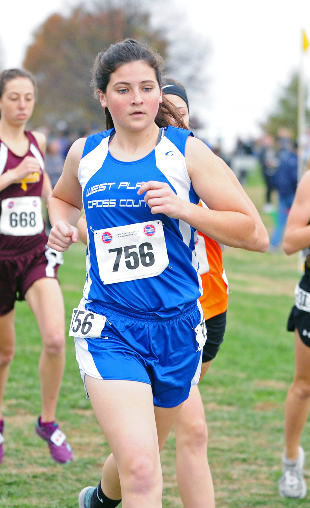 NICK INGRAM/Citizen photo West Platte junior Lea Moose competed at state for a third consecutive season.