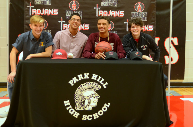 Park Hill signing day includes 3 Division I talents Image