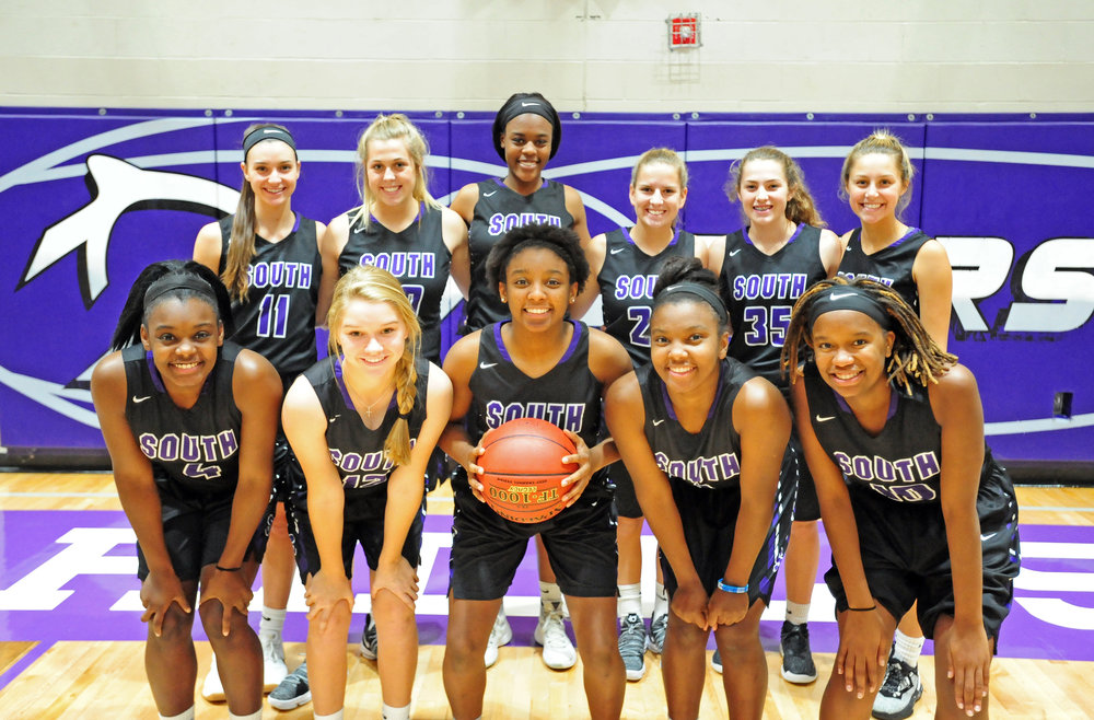 Front row, from left: De'Jaria Guillory, Emma Beuerlein, Dymeria Guillory, DeQuaria Guillory and Bali Cortes. Back row, from left: Raquel Reid, Jessie Matthews, Alecia Westbrook, Addison Howe, Brooke Jones and Kate Eischens.