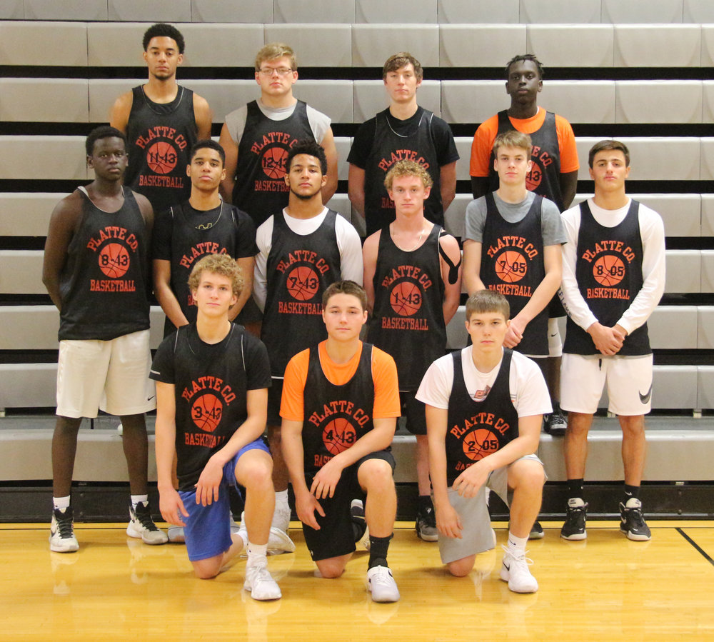 Front row, from left: Nathen Mair, Dawson Wood and Justin Barkley. Second row, from left: Lakol Miryal, Deiondre Ragsdale, Kobe Cummings, JP Post, Brady Wright, Dylan Gilbert. Back row, from left: John Watts, Lucas Stanley, Ethan Esdohr and Uzael Abraham.