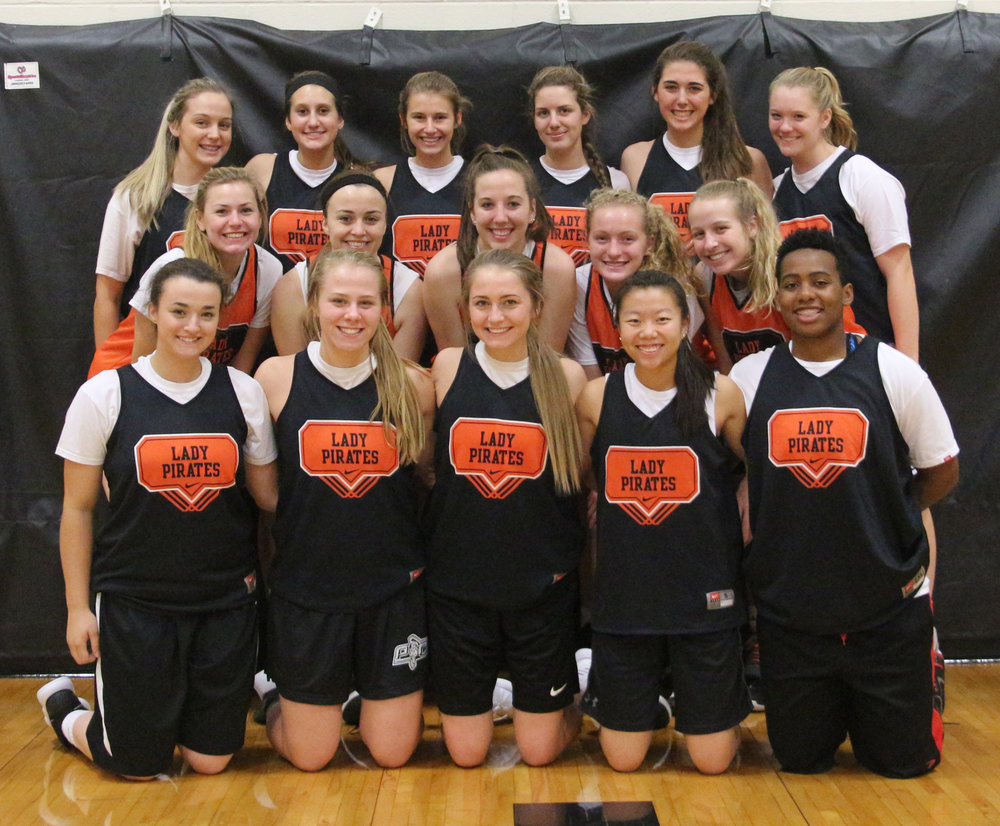 Front row, from left: Megan Lewis, Mishel Simms, Taylor Farr, Stephanie Carroll and Rockey Chambers. Second row, from left: Janessa Barmann, Trista Amos, Meghan Amos, Hayden Walls and Jaycie Stubbs. Third row, from left: Skyla Burney, Addie Long, Hannah Valentine, Nicola Kingery, Shayla Kohler and Lauren Walker.