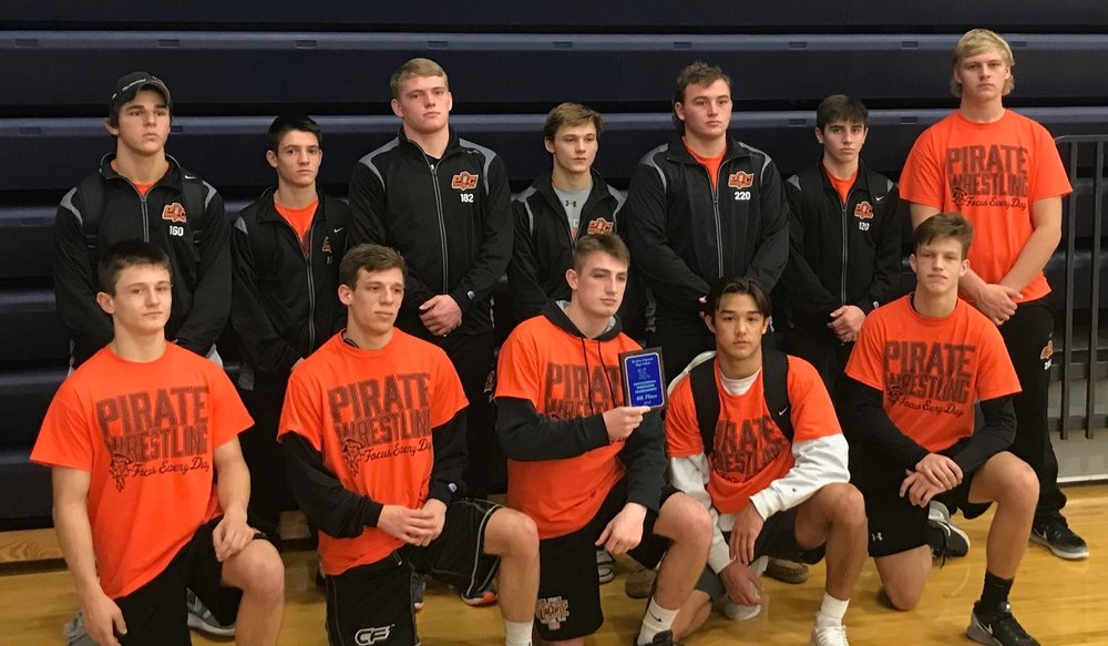 Contributed photo Platte County finished fourth as a team in the Gardner-Edgerton Invitational on Saturday, Dec. 2 in Gardner, Kan.