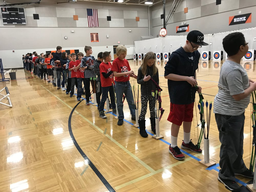 Contributed photo The Platte County archery teams brought home medals in recent weeks from the meet at Platte County Middle School and Northland Christian.