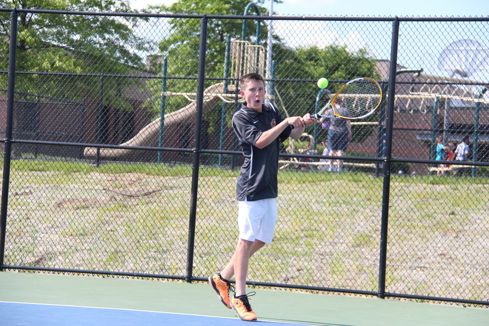 Citizen file photo Platte County's Noah Singer became the school's first Class 2 sectional qualifier last year. He went 13-2 playing at No. 2 singles for the Pirates.