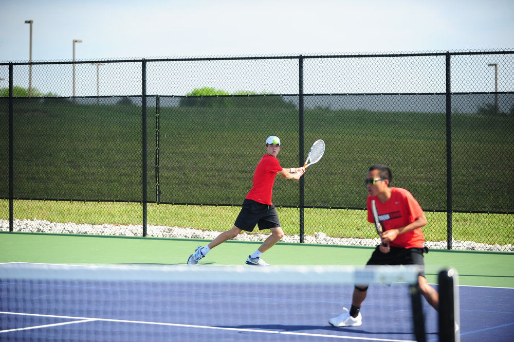 Citizen file photo Former Park Hill state qualifier Cooper Hayes, left, ill play for Park Hill South this spring.