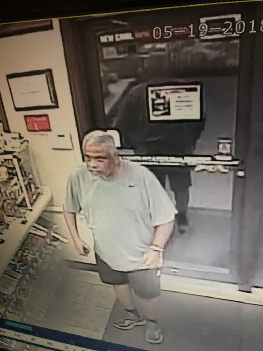 Submitted photo The man above is suspected of robbing the Platte City Casey's General Store on Saturday, May 19.
