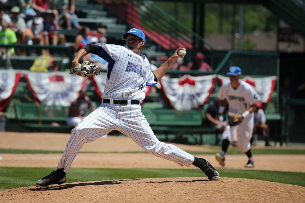 Jennifer Lallemand/Special to the Citizen Former Park Hill standout Aaron Ashby was drafted in the fourth round by Milwaukee on Tuesday in the Major League Baseball First-Year Player Draft. He will have to chose between signing or going to Tennessee.