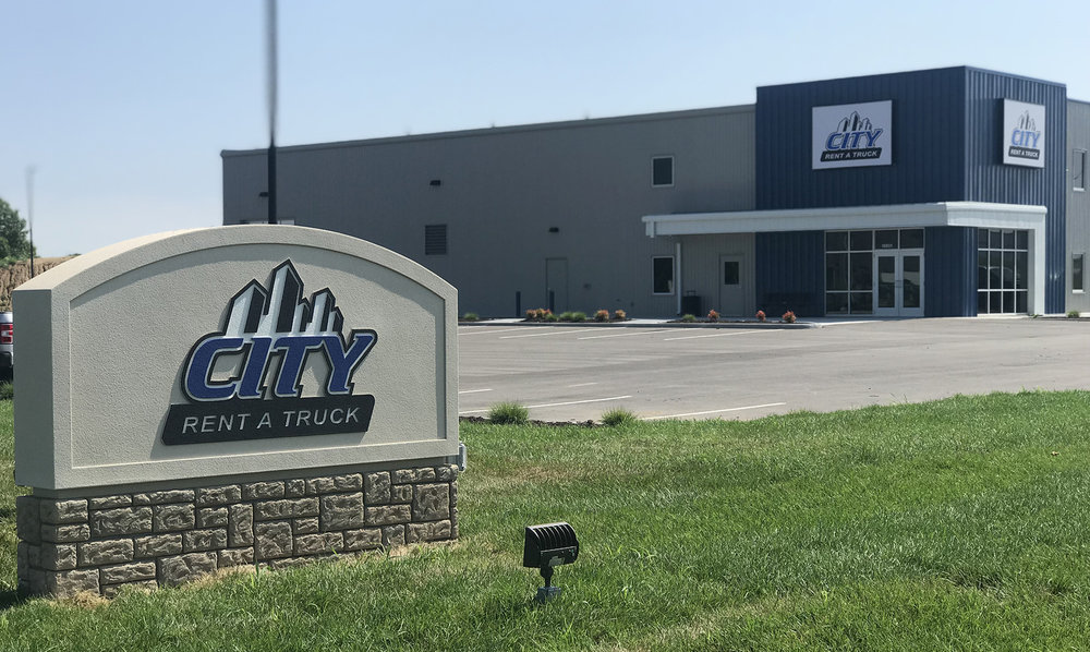 Submitted photo City Rent A Truck has opened a new corporate headquarters in the KCI Airport corridor in Kansas City.