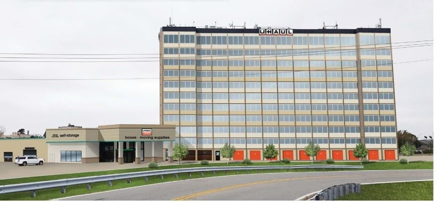 Submitted photo  The former Howard Johnson Plaza Hotel, located at 7310 NW Tiffany Springs Road, will become a U-Haul after the owners applied for a rezoning of the property at a recent council meeting in Kansas City. The hotel has been abandoned for years, but first opened in 1973.