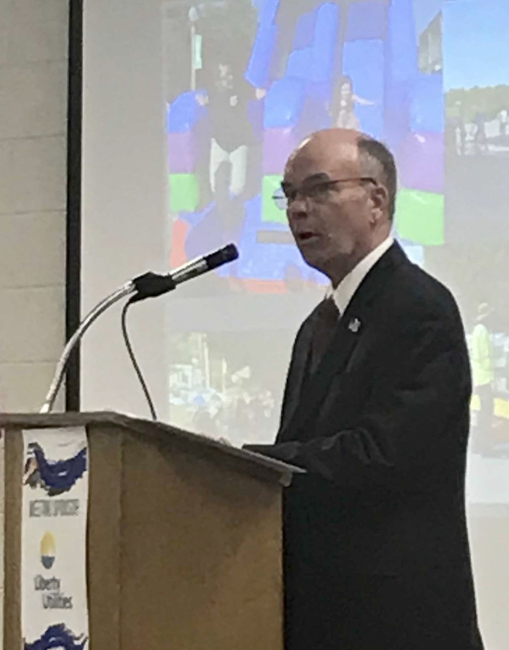 Platte City mayor Frank Offutt