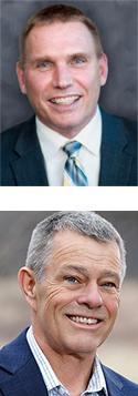 Ron Schieber, top,  and David Park
