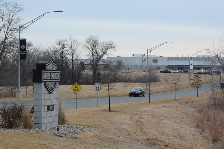 Citizen file photo The Harley-Davidson plant in Kansas City will close later this year after the company announced in January 2018 it will consolidate the plant with another in York, Pa. in 2019.