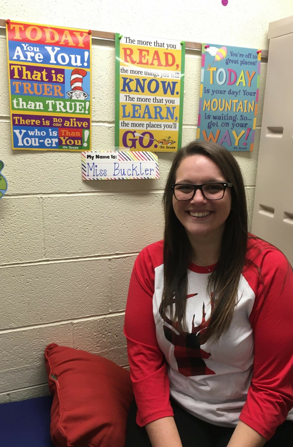 Submitted photo North Platte graduate Emilee Buckler was hired by the district to be a preschool paraprofessional during last month's board meeting.