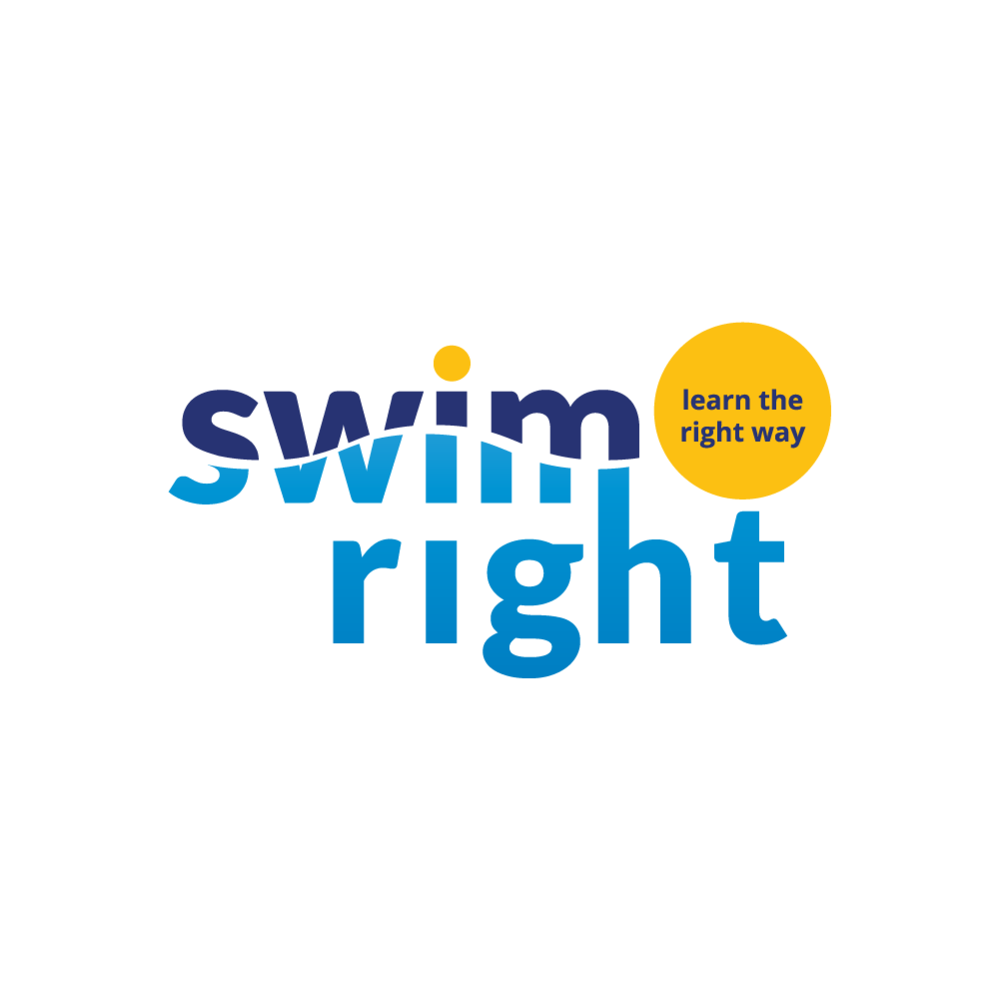 brand and logo design for a swim school