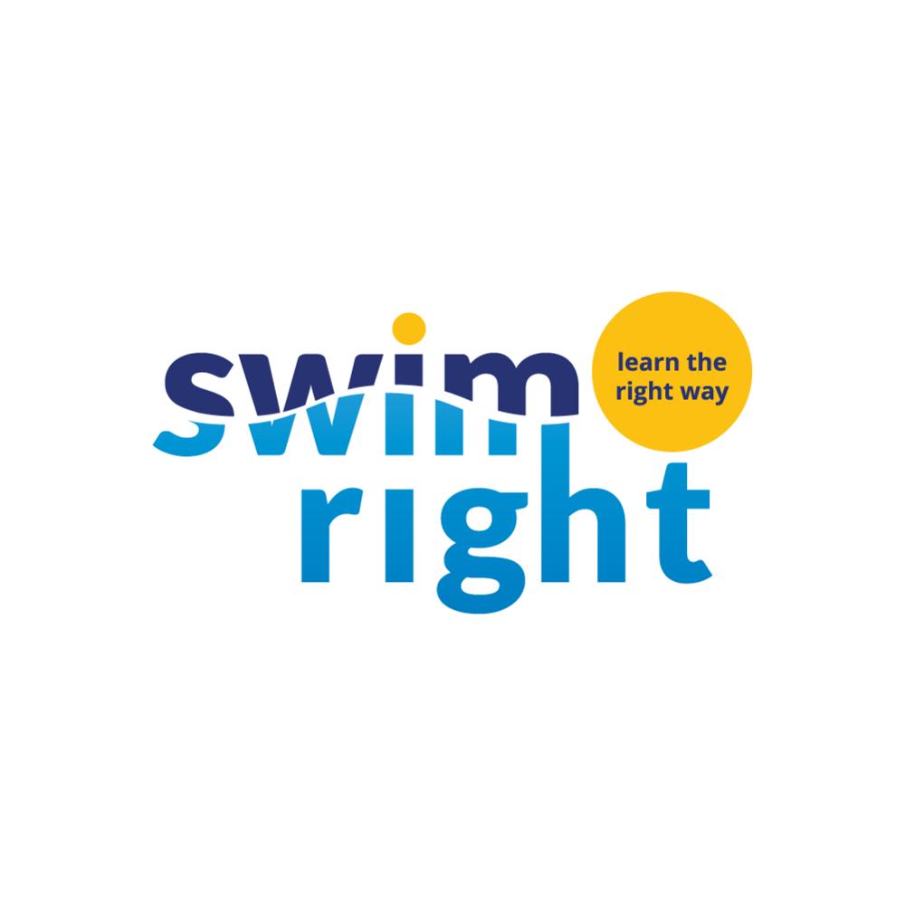 brand and logo design for a swim school
