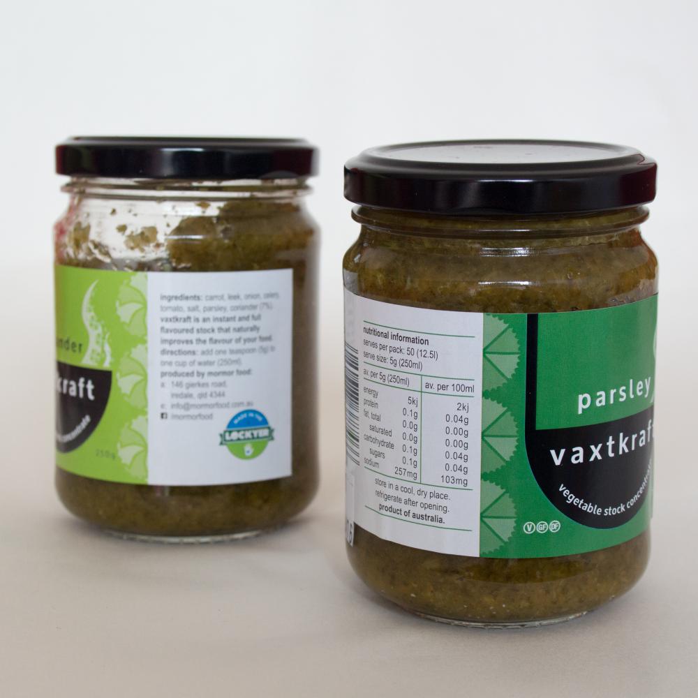 packaging design for vegetable stock