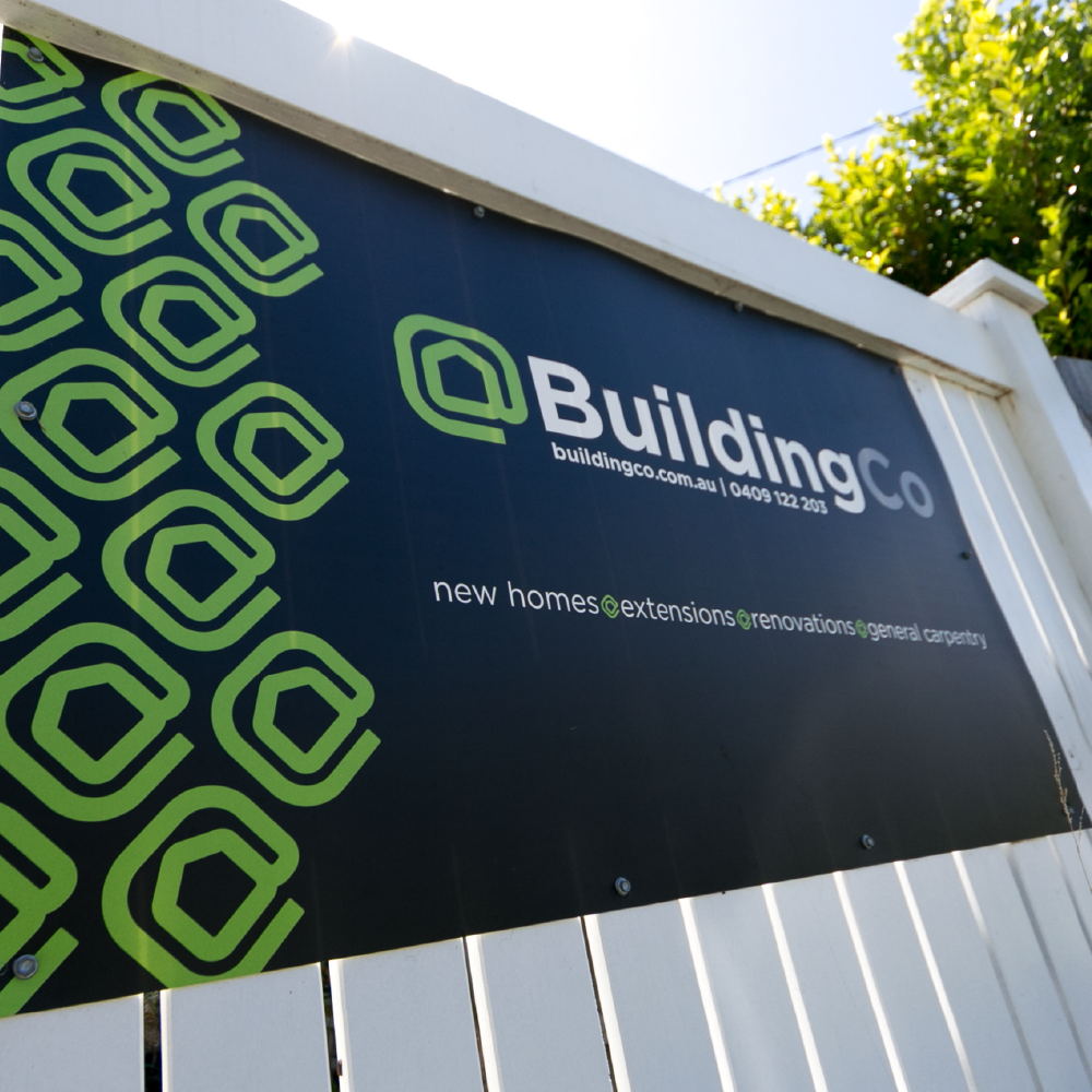 Outdoor signage design