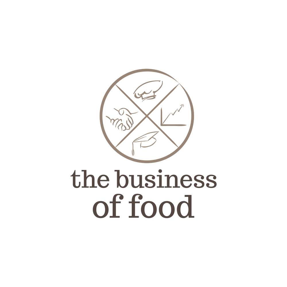 brand design for a food business consultant