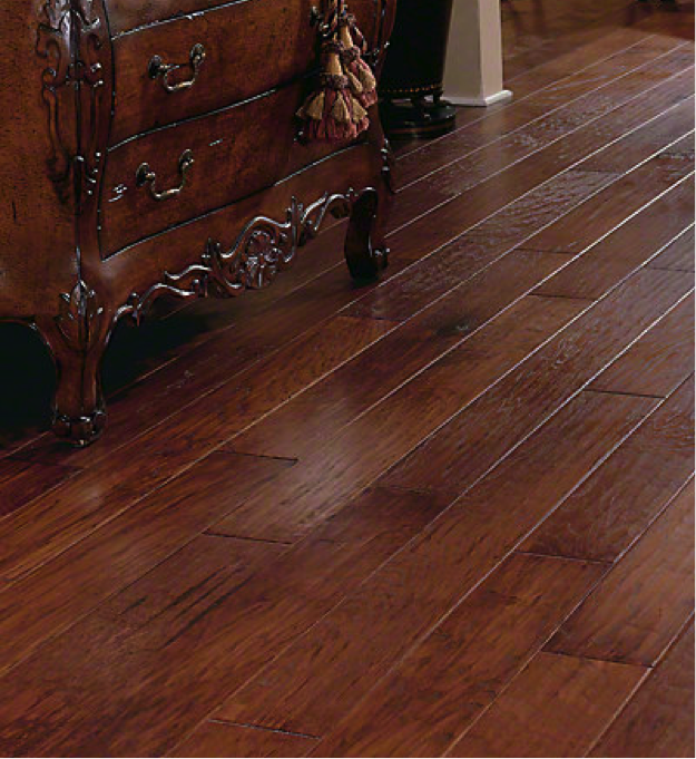 Imperfection makes an object unique. This is no different with hardwood flooring. Chisel marks, half-moon indentations and slight variations in color are the characteristics that give a handcrafted floor real value. The value is in an authentic, one-of-a-kind work of beauty just like very Virginia Vintage hand-scraped hardwood floor. While our craftsmanship makes our floors unique, our technology makes them unbelievably durable.