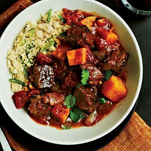 Beef Tangine with Butternut Squash