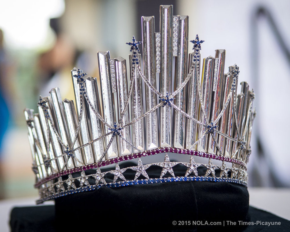 Miss USA Crown, valued at over $200,000