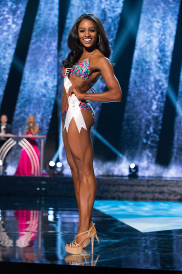 Competing at Miss USA in 2016