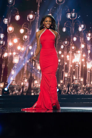 My RED Miss USA gown created by the wonderful Gregory Ellenburg, despite those who advised me against wearing the color
