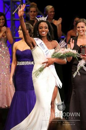 Winning the title of Miss Virginia 2013