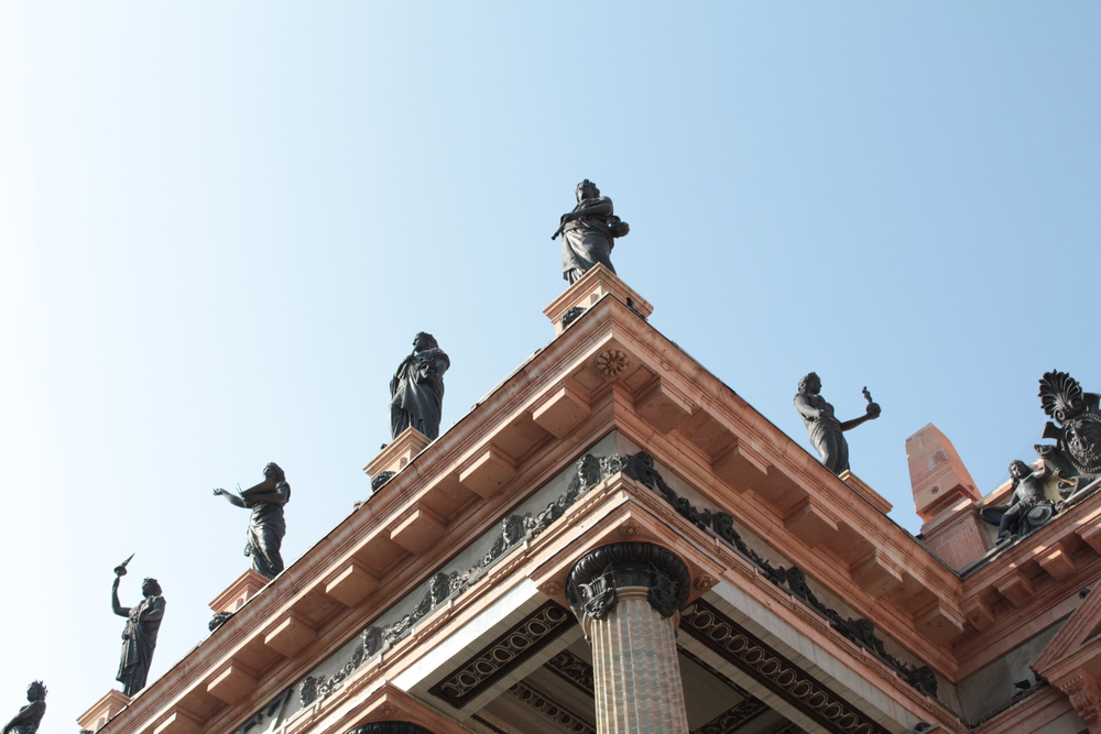 Teatro Juarez de Guanajuato
