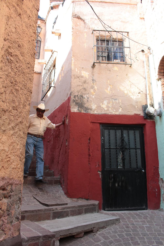 Callejones de Guanajuato México